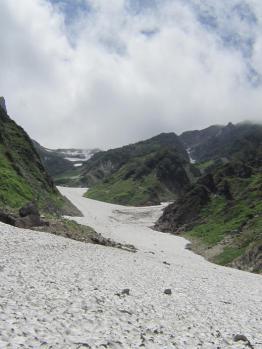 大雪渓12
