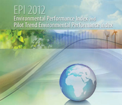 画像-EPI Environmental Performance Index 2012 Report