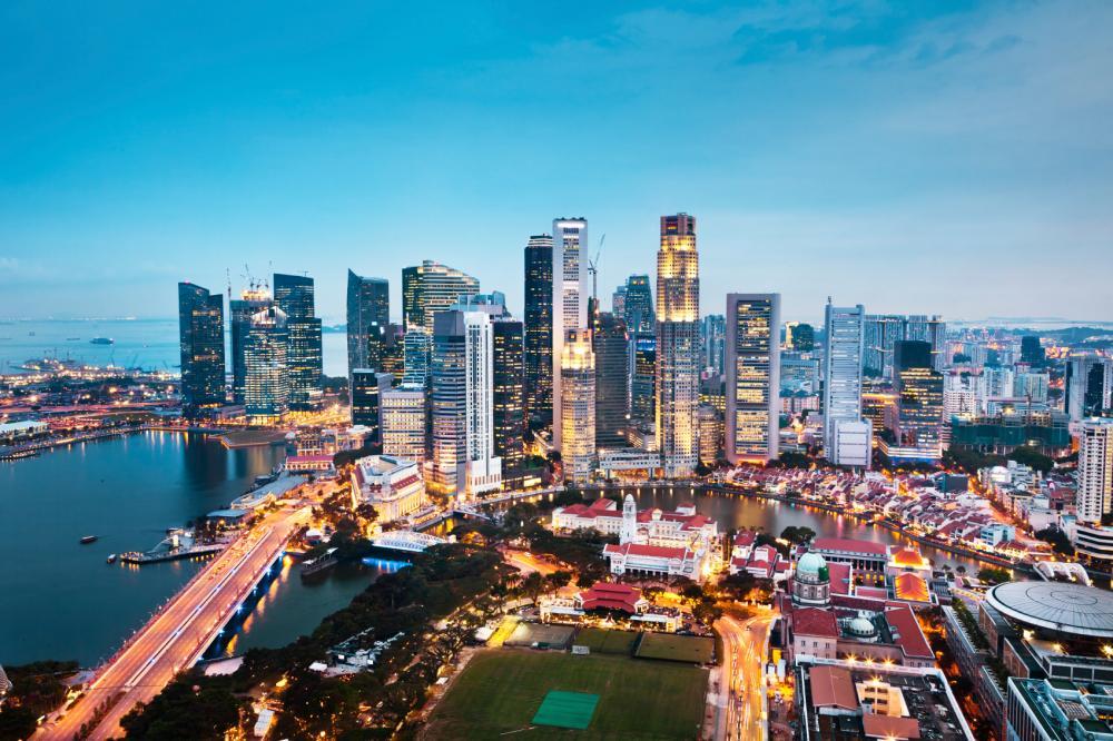 シンガポールの夜景_convert_20130101105526
