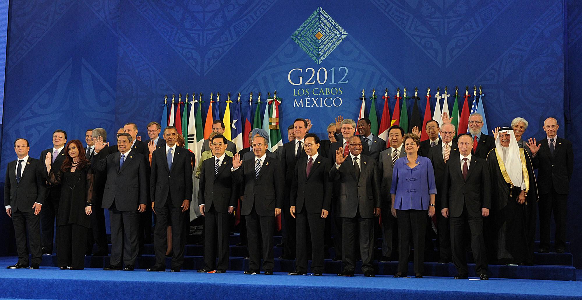 g20メキシコサミット2012年