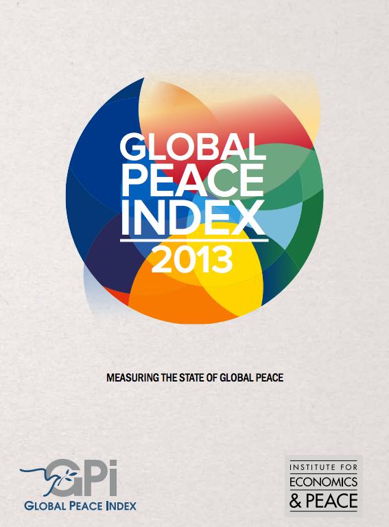 世界平和度指数 2013 2