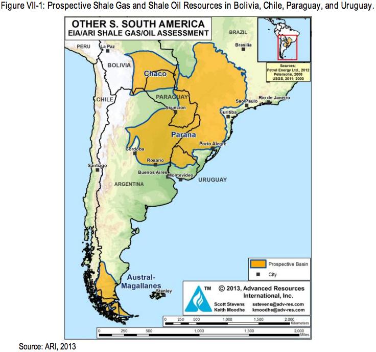 アルゼンチン シェールガス 2013 2