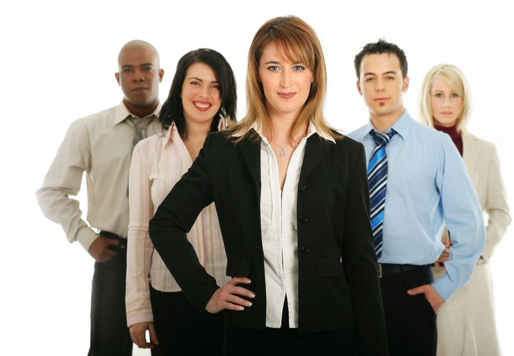 女性ビジネスウーマン