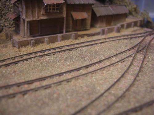 鉄道模型 森林鉄道 車両基地2
