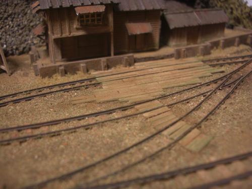 鉄道模型 森林鉄道 車両基地3