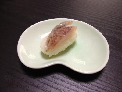 メジナ(グレ)の握り寿司