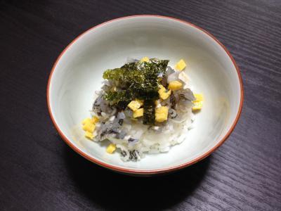 トウゴロウイワシのミニちらし寿司