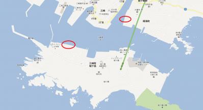 三崎港のサビキのポイント