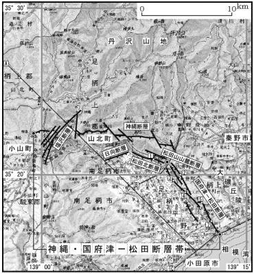 神縄・国府津-松田断層帯