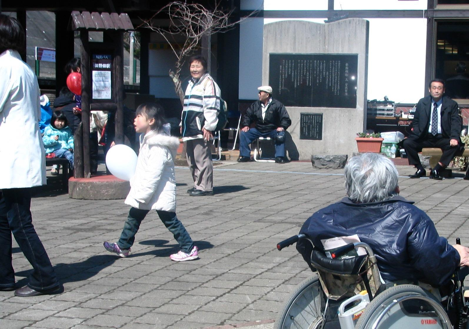 20120401田野畑駅開通イベント5