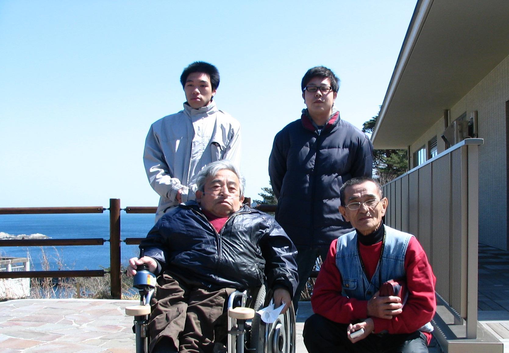 20120405浄土ヶ浜にて