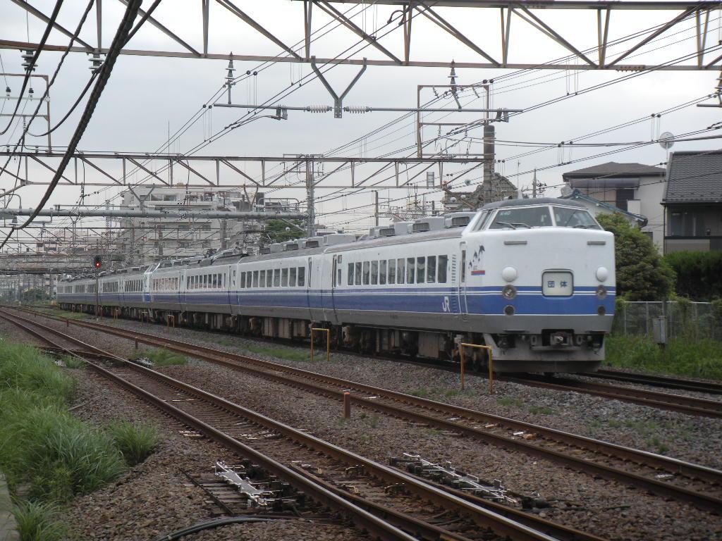 485系K40+K60団臨 (2)