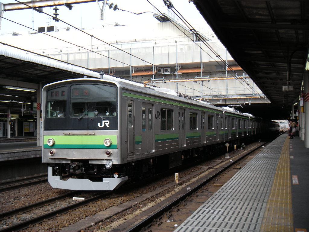 205系ハマ線 OM出場 (4)