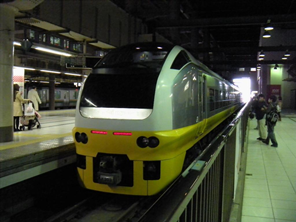 E653系K303(黄)