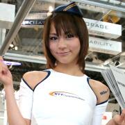 ☆NTTコミュニケーションズ 渡辺萌依子@INTEROP Tokyo 2010☆