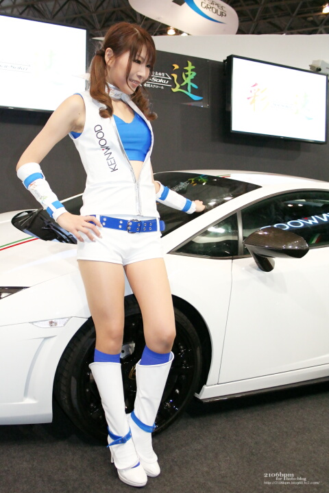 愛原涼 / KENWOOD -TOKYO AUTO SALON 2012-