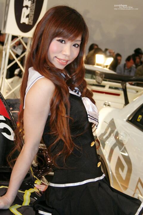雨宮める / CLUB-RH9チューンド PRO SHOPグループ -TOKYO AUTO SALON 2012-