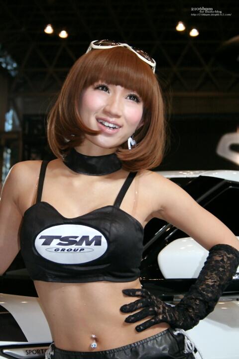 青山莉菜 / TSM GROUP -TOKYO AUTO SALON 2012-