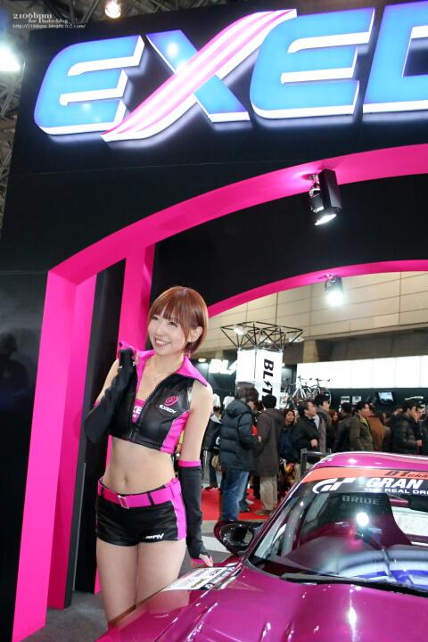 河原さゆり / EXEDY -TOKYO AUTO SALON 2012-