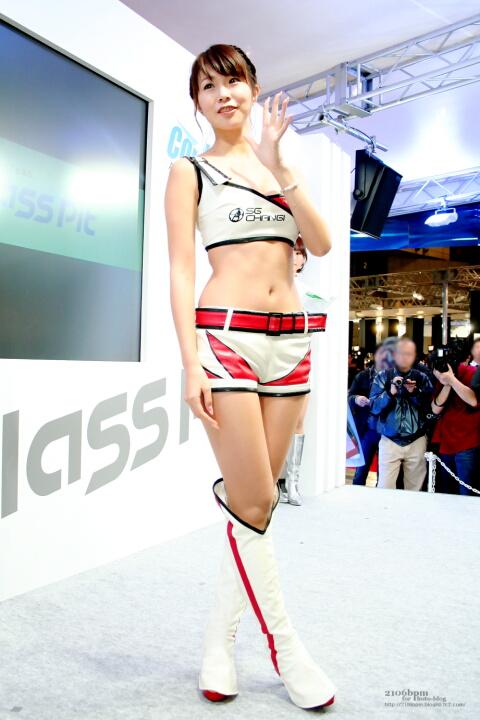 水谷さくら / SG Changi Racing -TOKYO AUTO SALON 2012-
