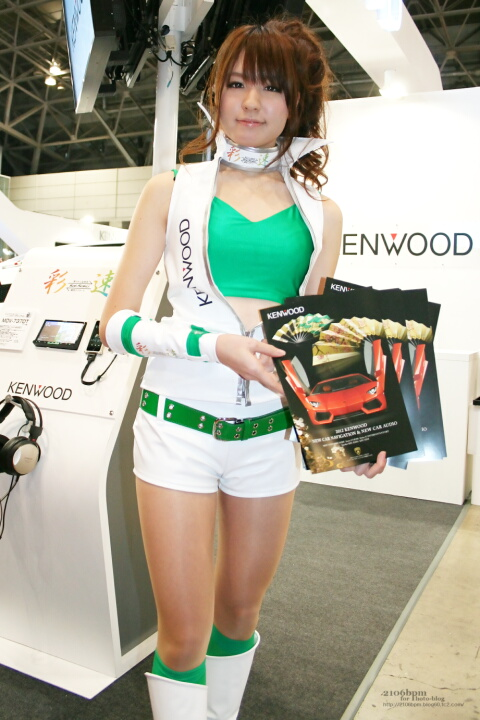 渡里彩 / KENWOOD -TOKYO AUTO SALON 2012-