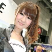 ☆大空美生 (ブリヂストン)@東京モーターサイクルショー2012☆
