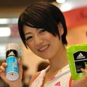 ショートの美人コンパニオン♪  コーセー  じゅり@第12回JAPANドラッグストアショウ(JBN)