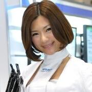 三菱電機  櫻井はな@スマートエネルギーWeek2012