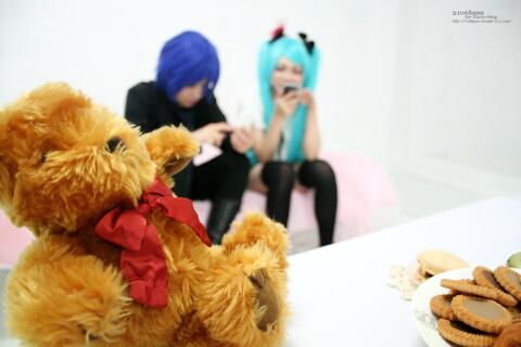 はずれ 初音ミク 恢吏 KAITO(World is Mine)@PHOTOスタジオ・サン 2nd