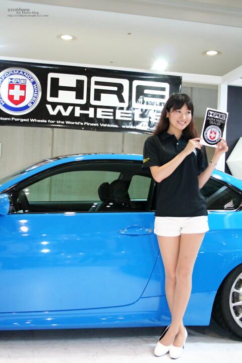 佐野未来 / HRE WHEEL EXPRIDE -TOKYO AUTO STYLE 2012-