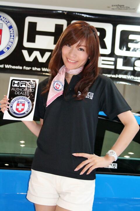 七海ちか / HRE WHEEL EXPRIDE -TOKYO AUTO STYLE 2012-