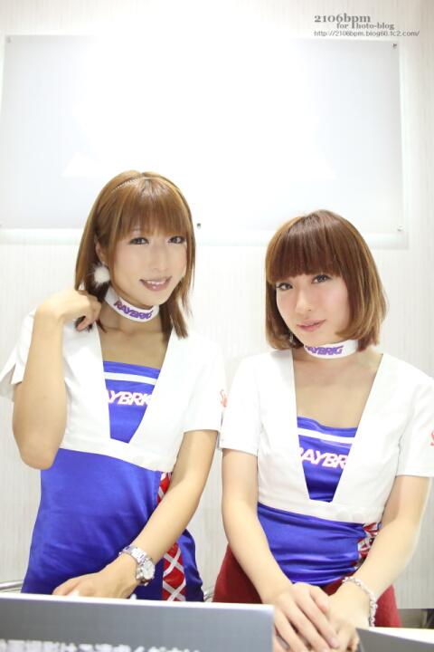 佐伯みゆ みさきめぐみ / スタンレー電気 E2103 -TOKYO MOTOR SHOW 2013-
