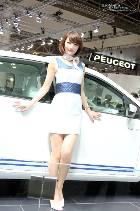 山口雅代 / フォルクスワーゲン EP12 -TOKYO MOTOR SHOW 2013-
