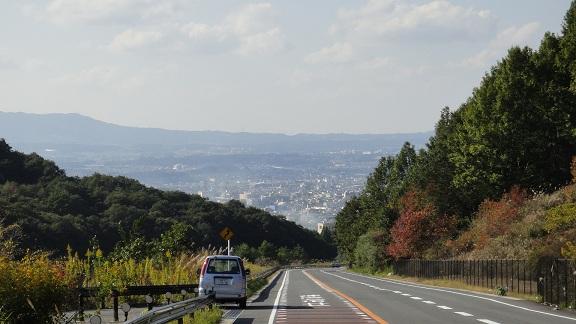 2012.10.31 高円への下り