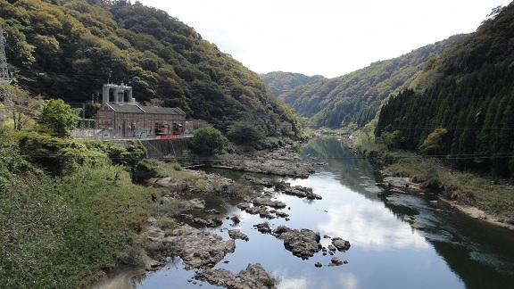 2012.10.31 高山ダム下流