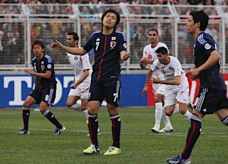 日本、ヨルダンに敗れW杯出場は持ち越し・・・
