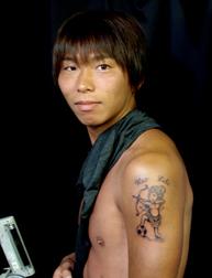 佐藤寿人のタトゥー画像