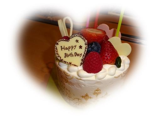 DSC00236誕生祝ケーキ