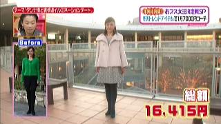 生稲晃子、ファッションコーディネートのテーマ「お嬢様エレガントコーデ」