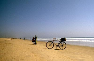 プリーの浜辺