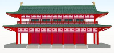 平安京-羅城門正面