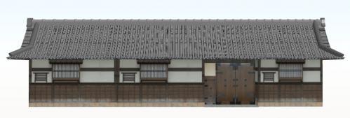 長屋門(一階建)