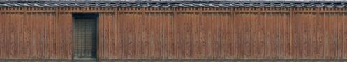 板塀(焦茶)