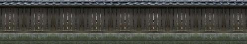 板塀(苔色)