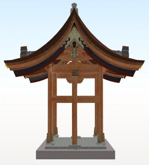 大徳寺唐門側面