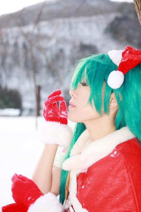 初音ミク/VOCALOID/クリスマスモジュール/コスプレ写真
