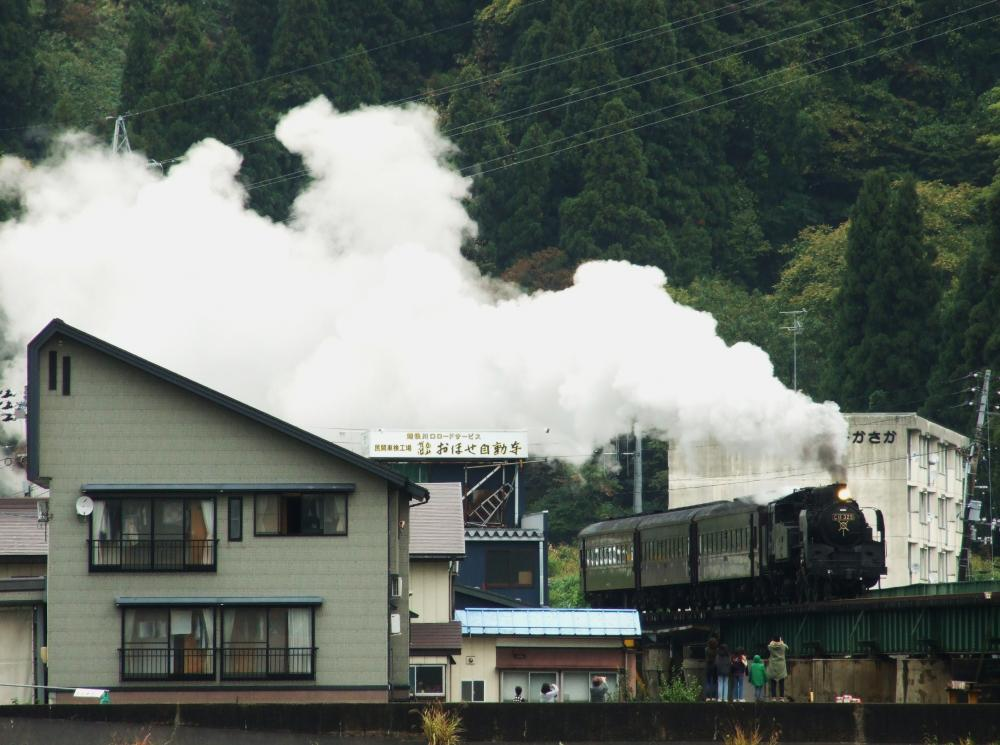 2012/11/03上越線(越後川口-内ヶ巻)魚野川橋梁