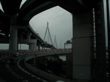 天保山JCTから大橋.JPG