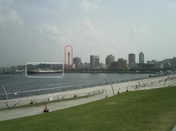 50 大桟橋から山下公園.JPG
