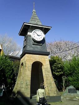 前鎌倉駅の時計台.JPG
